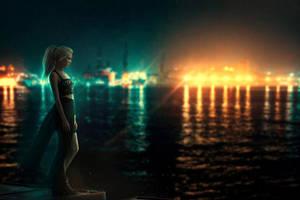 City of Lights II by BaxiaArt