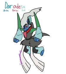 Daradesa (PokeFusion Custom) by IndominousFire