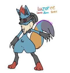 Luzoree (PokeFusion Custom) by IndominousFire