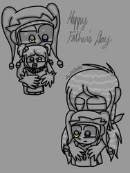 Happy Fathers Day to Jester X Game by FlippingOcFanatic