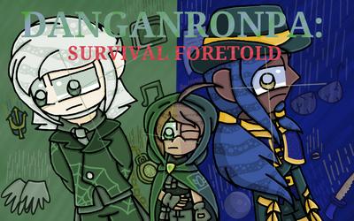 Danganronpa: Survival Foretold - Cover by FlippingOcFanatic