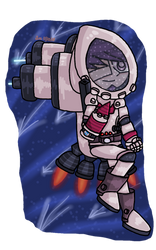 Danganronpa - Astronaut Kaito by FlippingOcFanatic