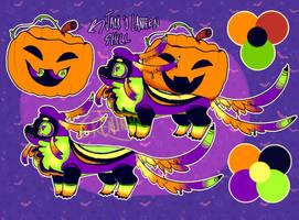 obligatory halloween design by 6reninja