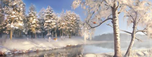 Winter by Sueta