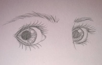 Amy Pond Eyes by That-Short-Girl