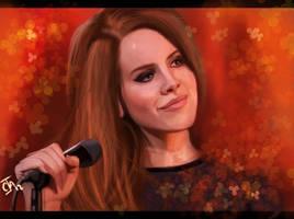 Lana Del Rey by Ignis-vitae