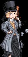 Victorian Vampire Hunter by beblue