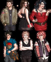 Heroes of the Prytaneum (2) by beblue