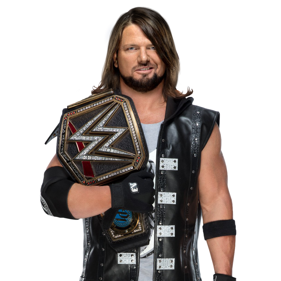 AJ Styles -WWE Champion PNG By UndisputedFuture1 On DeviantArt
