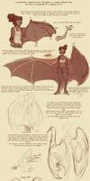 Bat Wing Tutorial by harrie5