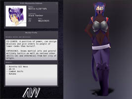 AW - Black Panther profile by azuretan