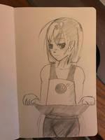 Lapis-chan by azuretan