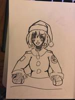 Merry Panzer-mas! by azuretan
