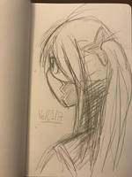 Kunoichi by azuretan