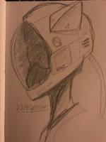 Helmet by azuretan