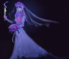 Disneyland ghost bride by RL-3