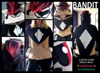 Custom Hoodie - Bandit! by Bathsua