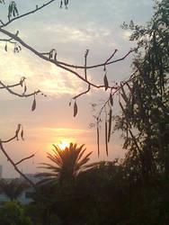 Setting Sun by nimraaijaz