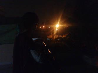 A lonely night by nimraaijaz