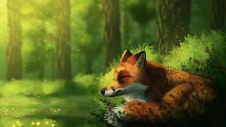 Calm Nap by CreeperMan0508