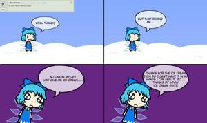 ICE CREAM by ask-cirno-the-genius