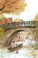Orange Bridge by sherrae78