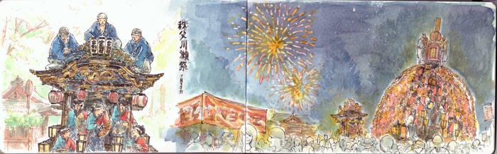 Chichibu Kawase Matsuri by sherrae78