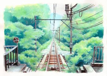 Hakone Tozan Railway by sherrae78