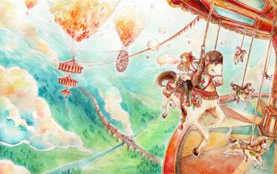 Sky Carousel by sherrae78