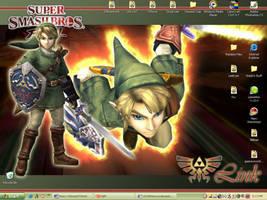 Super Smash Bros Brawl-Link by SSJ4Shina