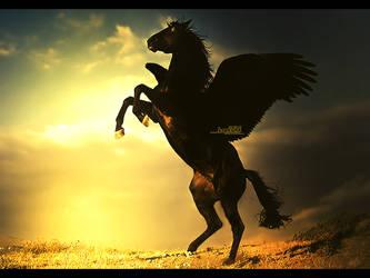 Infernal Horse by Drake1024