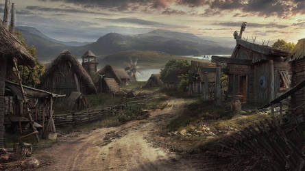 Viking Village by Drake1024