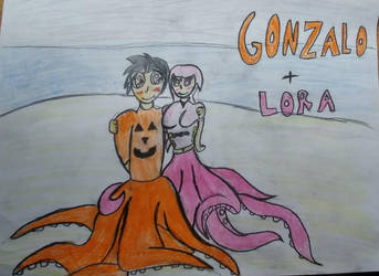 Gonzalo and Lora by DeoxysDivinity