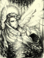 Archangel Gabriel by Dylan-Virtue2Vice