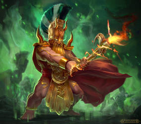 Warhammer Fyreslayer: Runesmiter by T-razz