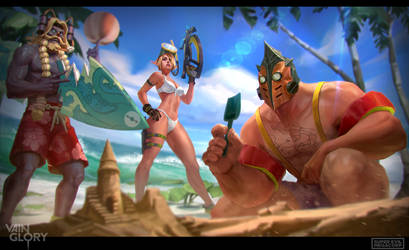 Vainglory: Summer splash by T-razz