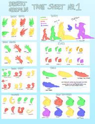 DESERT GREMLIN TRAITS NR.1 by tomoburd