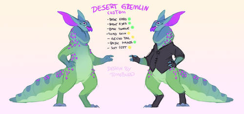 sketchy custom / Desert-gremlin 0002 by tomoburd