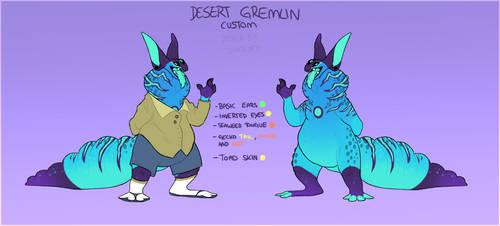 custom Desert-gremlin 0004 by tomoburd