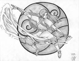 Water Element - Katara by wolf-by-the-moon