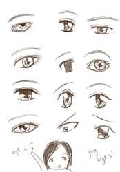 Eye Practice by tenshinosoranouta
