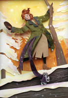 Anastasia in Paper cut by RaphaelOda
