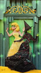 Wicked in paper cut by RaphaelOda