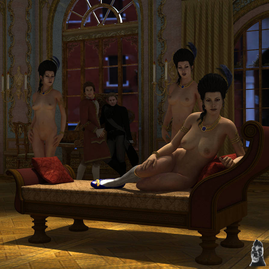 Ballroom portrait by GafftheHorse
