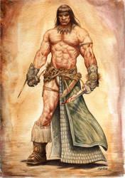 Conan The barbarian by FlavioGreco