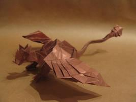 Origami dragon by orimin