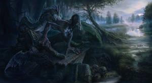Bezhin Meadow. Ivan Turgenev. Mermaid. by SchastnySergey