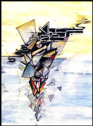 Little Cubist's Muse by Minzile