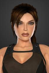 Lara Croft (Tomb Raider Underworld) - Portrait by lishaoran00