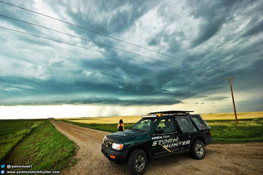 Beautiful Shelf Cloud - July 22, 2015. by ryancrouse